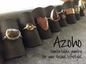 Azoho. Comfortable jewelry for your casual lifestyle.