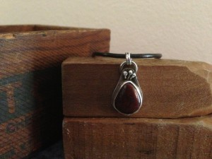 The Red Onion by Azoho.  Cave Creek Jasper and Sterling Silver.