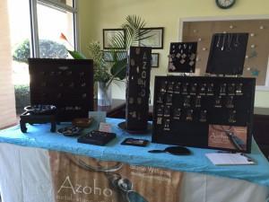 fundraiser setup w